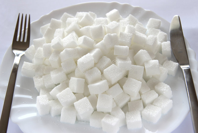 сахар плиты кубиков стоковые изображения rf