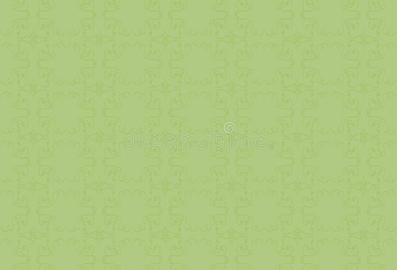 Салатовая предпосылка с зеленой картиной иллюстрация штока