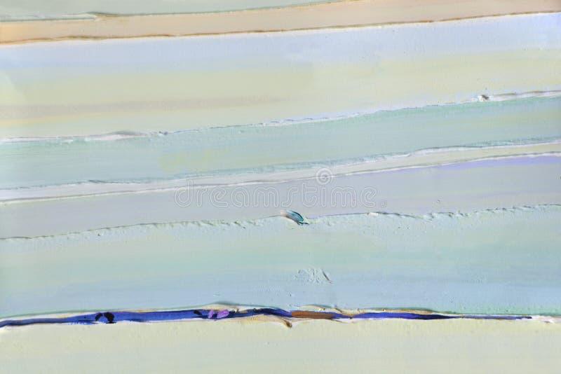 Салатовые прокладки толстых слоев краски, гипсолита стоковое изображение rf