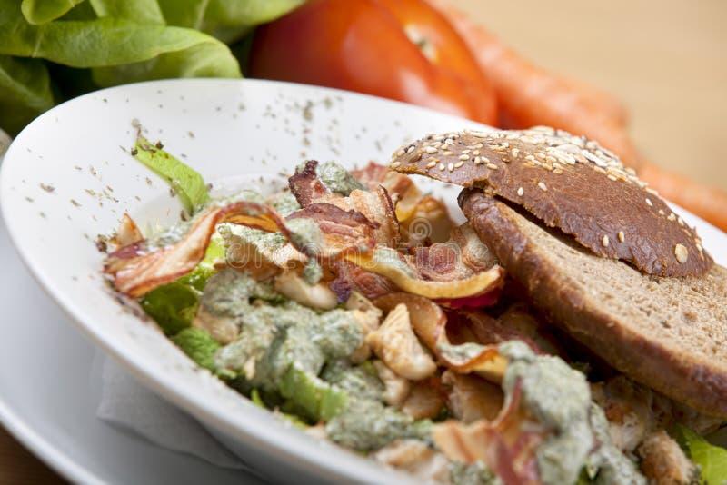 Салат бекона стоковые изображения rf