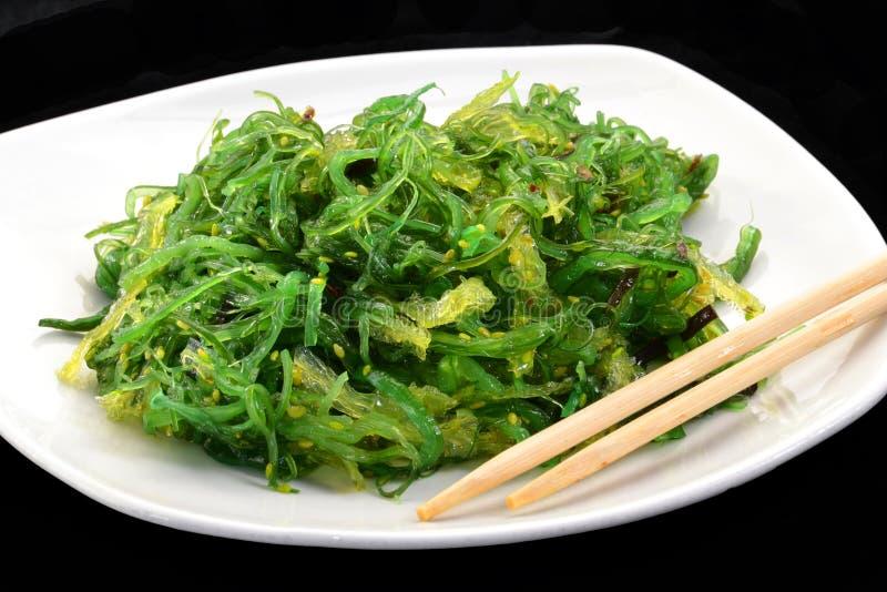 Салат водорослей стоковая фотография rf