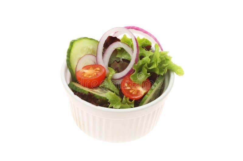 Салат в ramekin стоковые фото