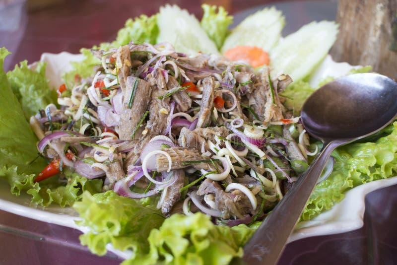 Салат гриба пряный стоковое фото rf