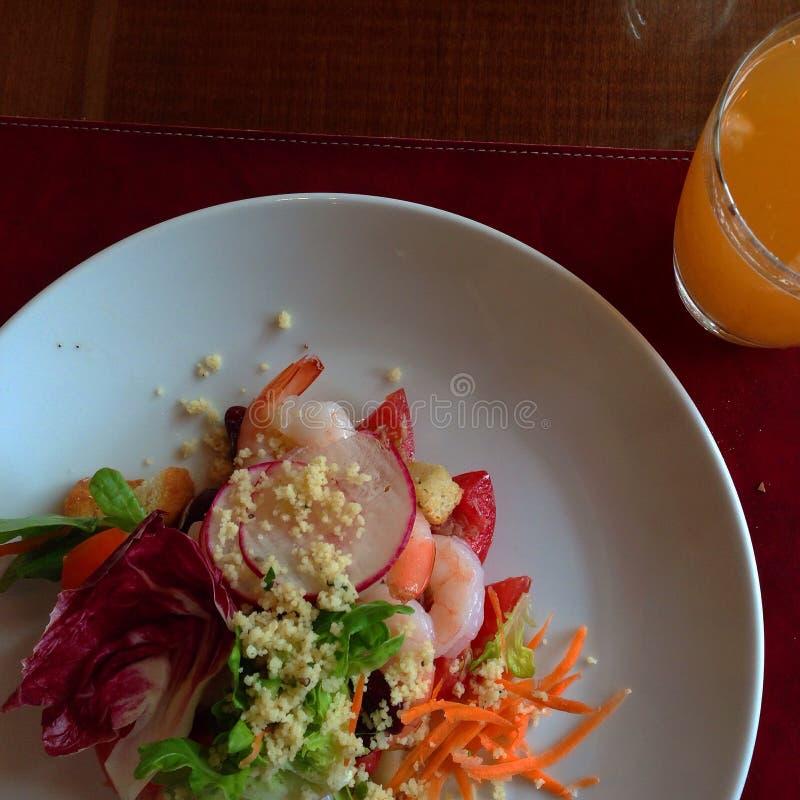 Салат еды yummy стоковое изображение rf