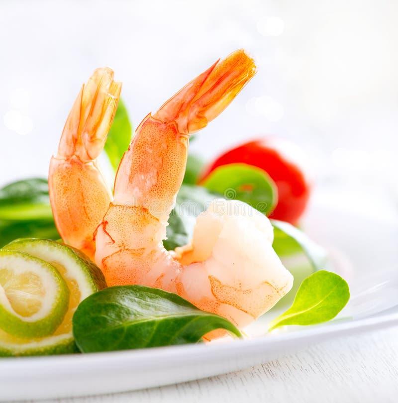 Салат креветки стоковые изображения