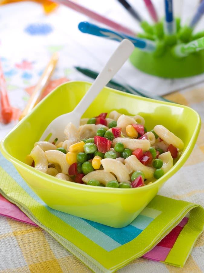 Салат макаронных изделий стоковые фото
