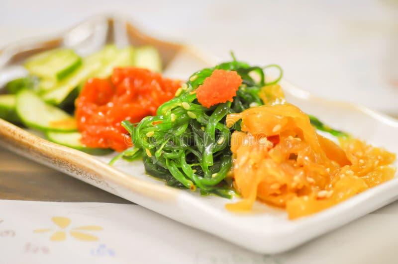 Салат морской водоросли стоковое фото