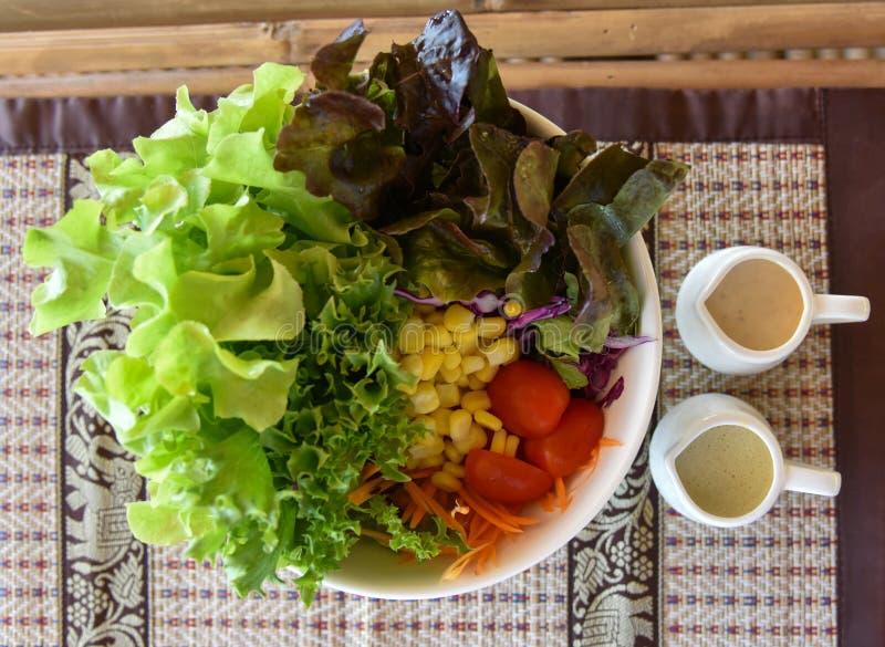 Салат овощей стоковое изображение rf