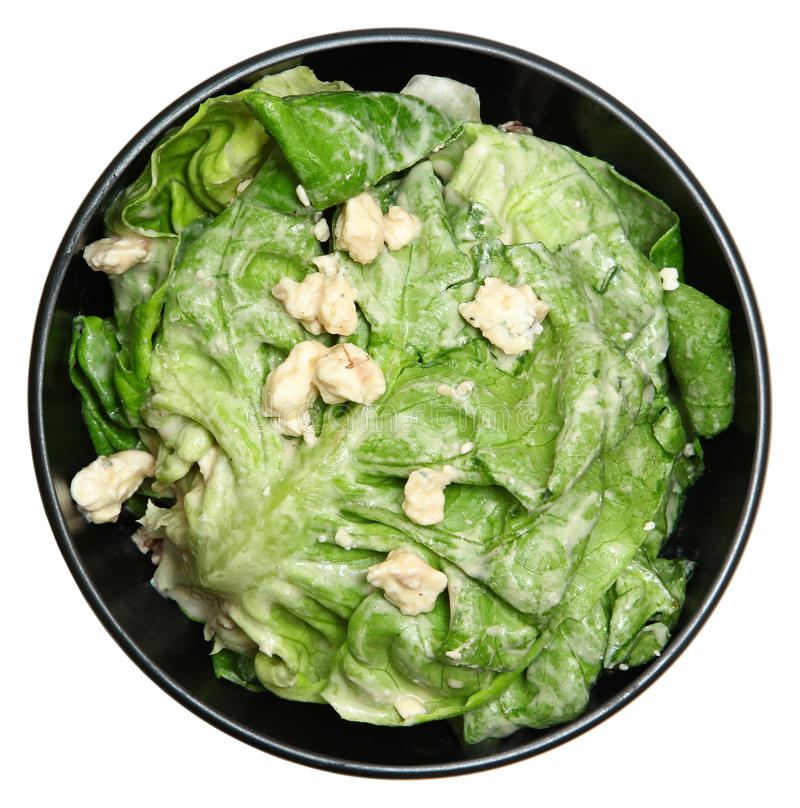 Салат салата масла fraîche Crème стоковые изображения rf