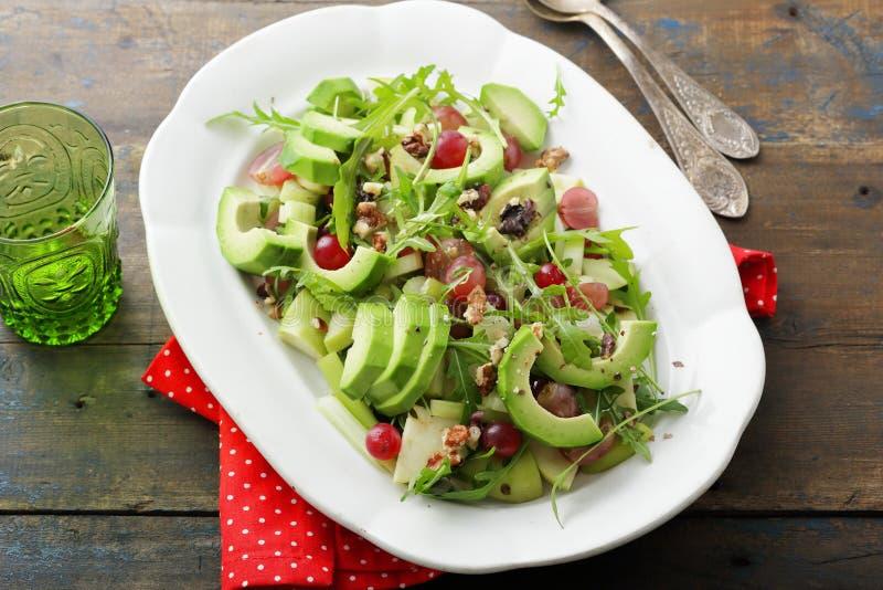 Салат с авокадоом стоковое изображение rf