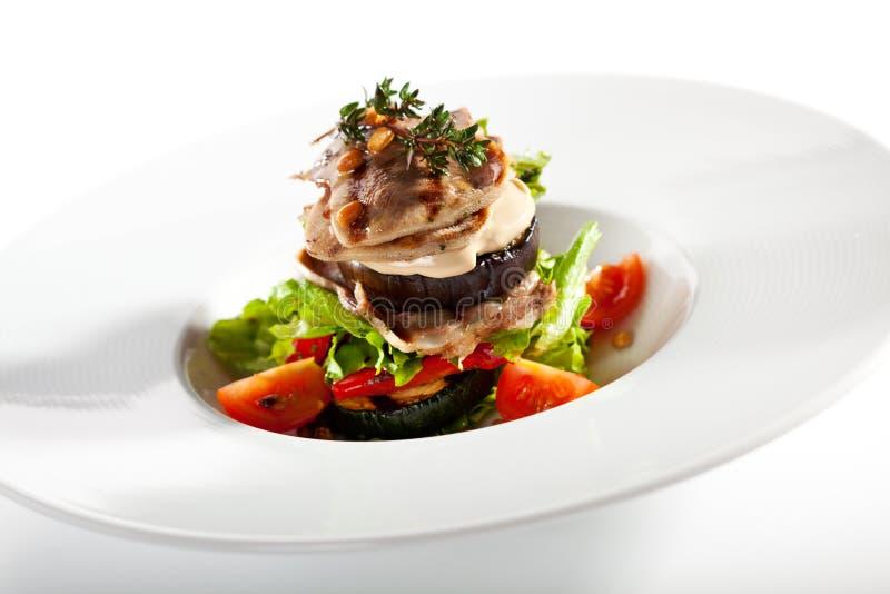 салат теплый стоковая фотография rf