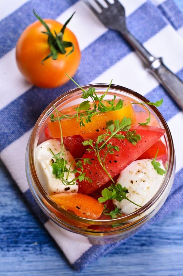 Салат томатов стоковая фотография rf