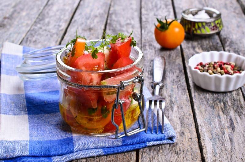Салат томатов стоковые фото