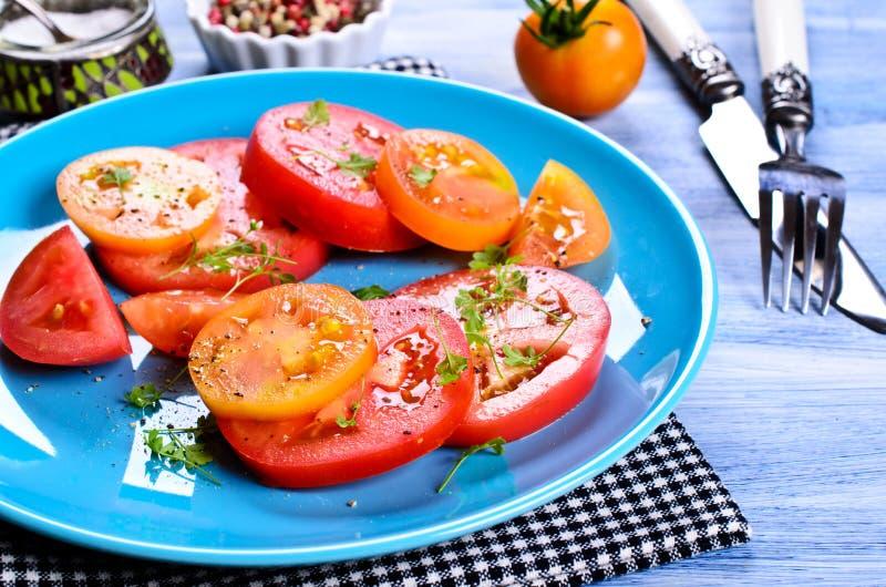 Салат томатов стоковое фото rf