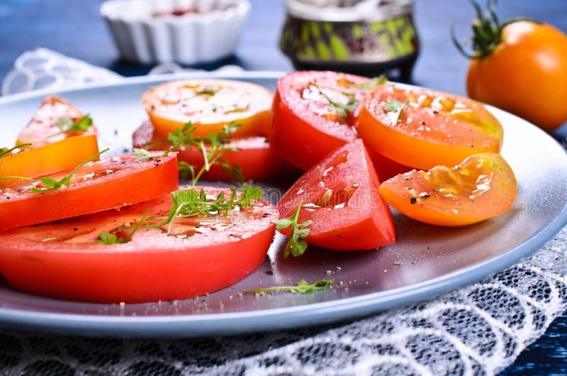 Салат томатов стоковые фотографии rf