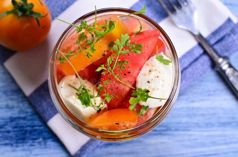 Салат томатов стоковые изображения