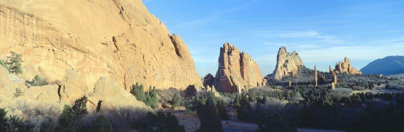 Сад богов, Колорадо-Спрингс, Колорадо стоковые фото