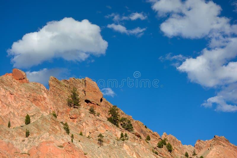 Сад богов Колорадо-Спрингс стоковая фотография