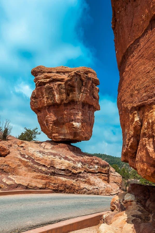 Сад богов паркует, Колорадо-Спрингс, Колорадо стоковое изображение