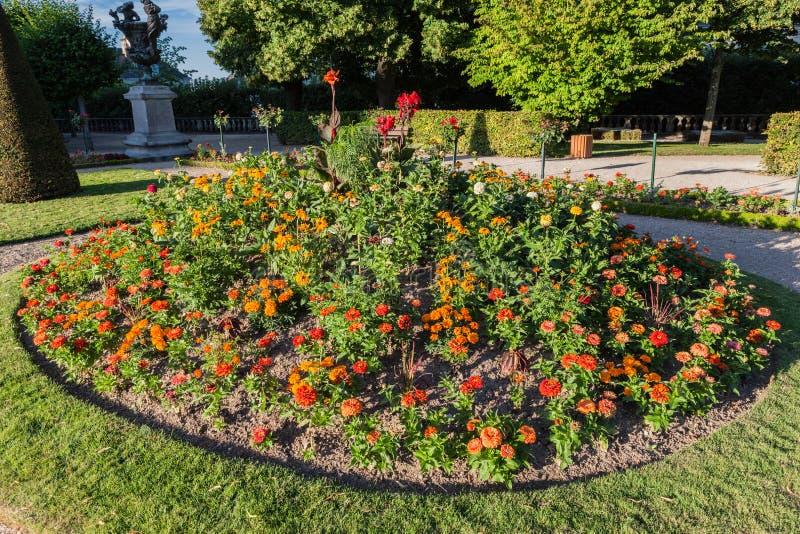 Сад Буржа Франции стоковое изображение