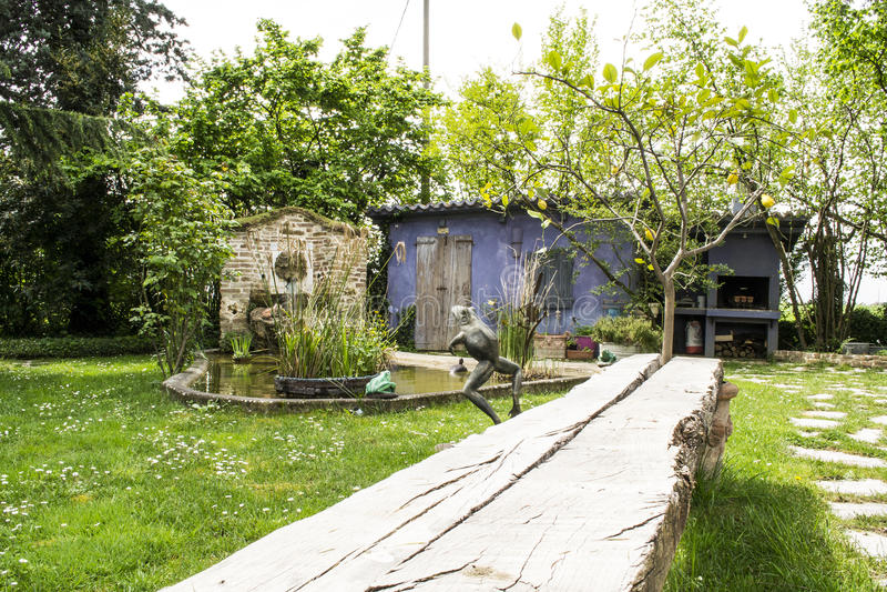 Сад в Италии стоковые фотографии rf