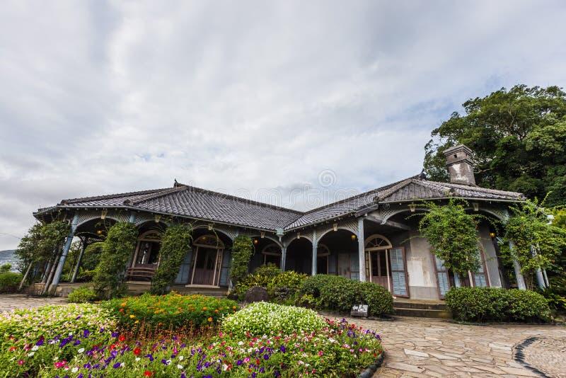 Сад Главера в Нагасаки, Японии стоковое изображение