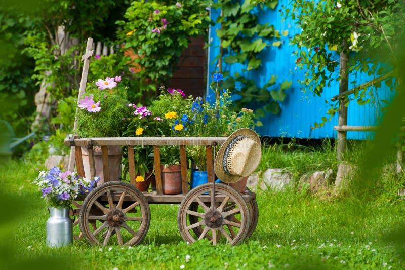 сад идилличный стоковая фотография