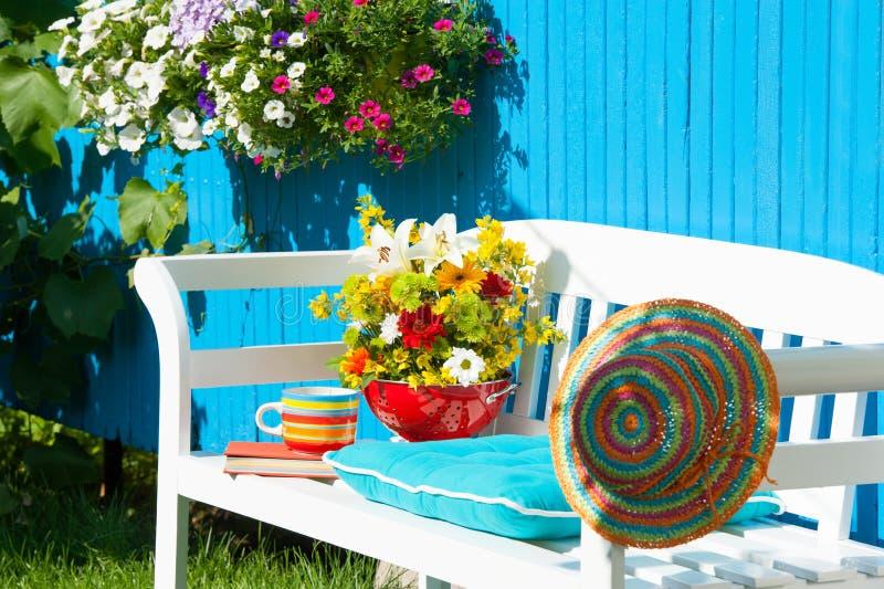 сад идилличный стоковые фото