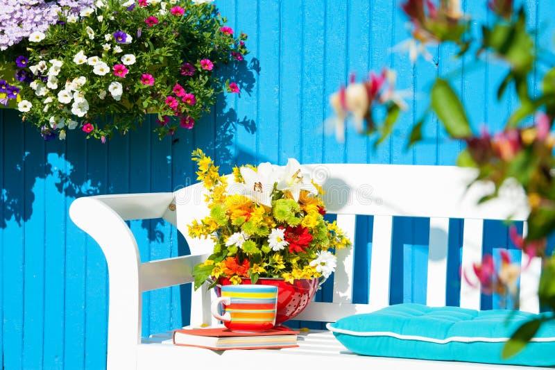 сад идилличный стоковое фото