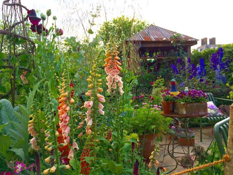Сад на выставке цветов Челси