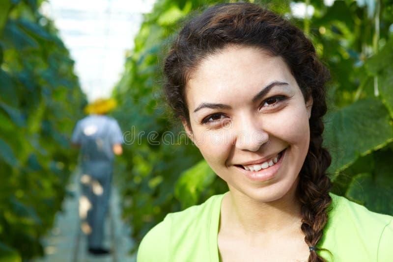 Садовник женщины стоковое изображение rf