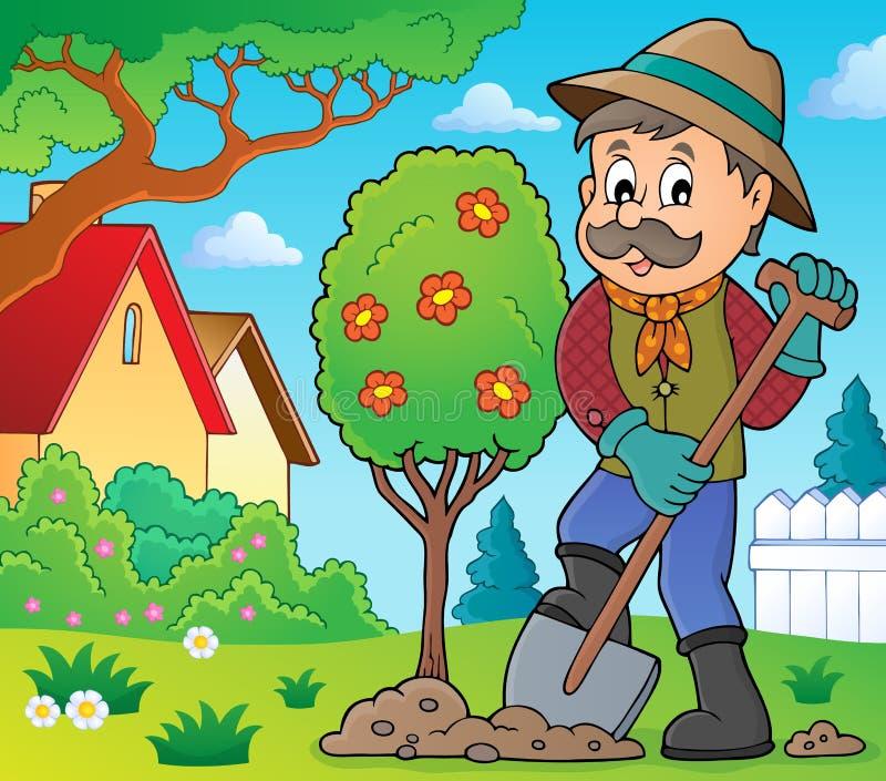 цветные картинки садовника каждый день археологи