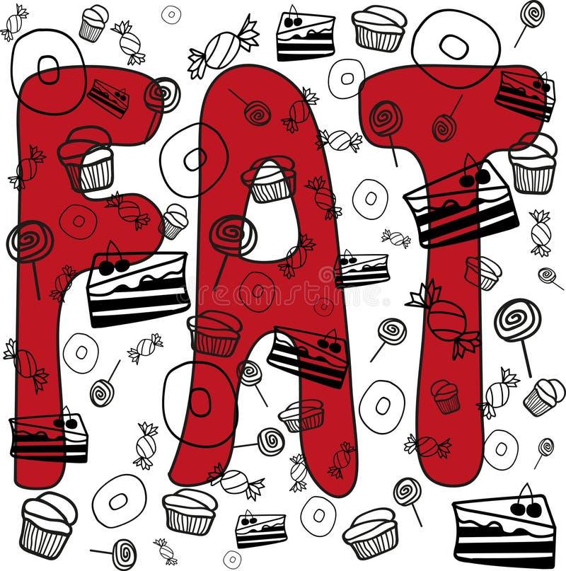 Сало и торты стоковая фотография rf