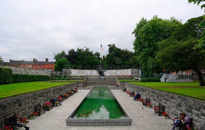 Сад памяти, Дублин, Ирландия стоковое изображение