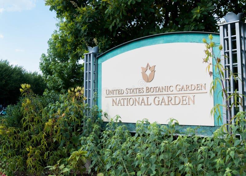 Сад Соединенных Штатов национальный ботанический в DC Вашингтона стоковые изображения