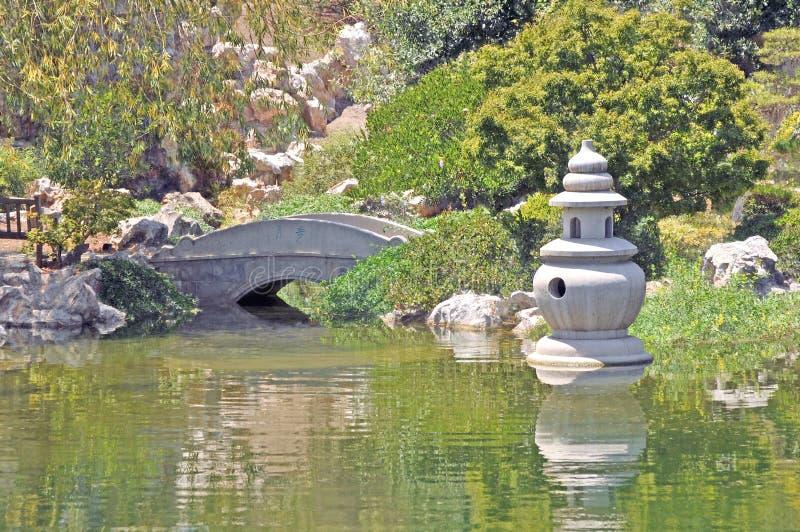 сад спокойный стоковая фотография