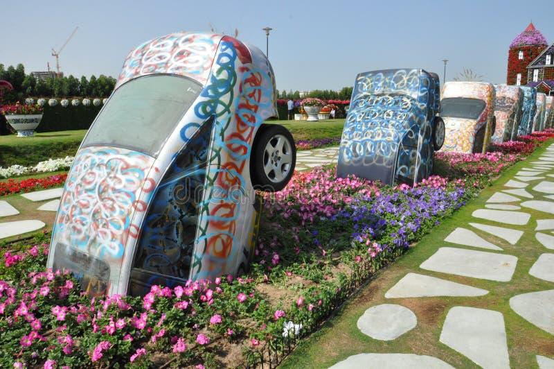 Сад чуда Дубай в ОАЭ стоковое фото