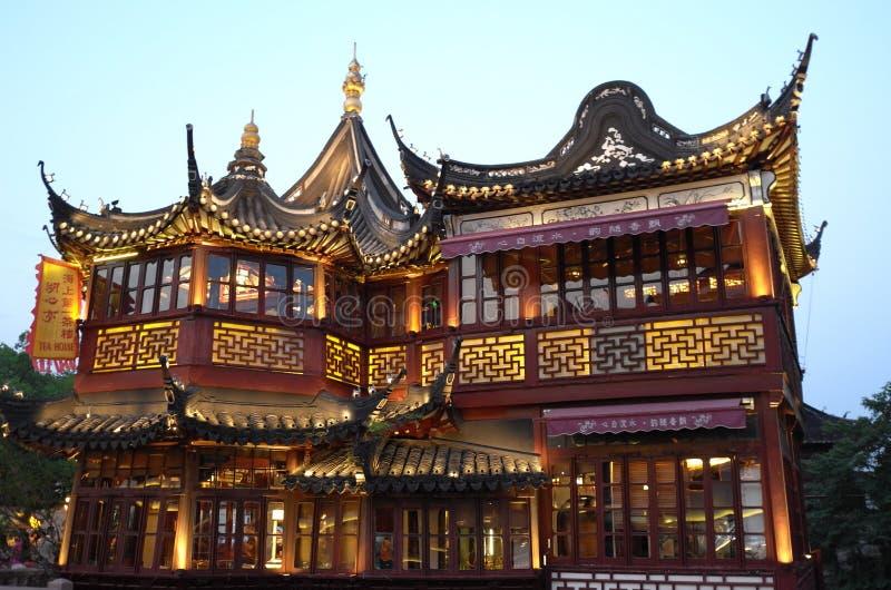 Сад Шанхая Китая yuyuan стоковое фото
