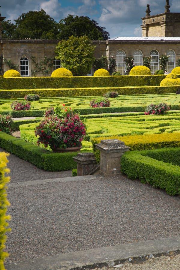 Сады места Blenheim стоковое фото rf
