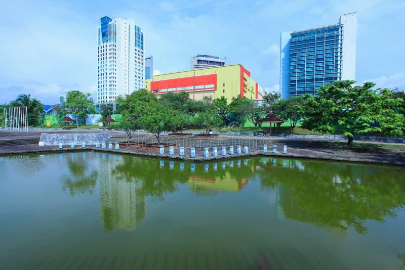 Сады озера Shah Alam стоковые изображения