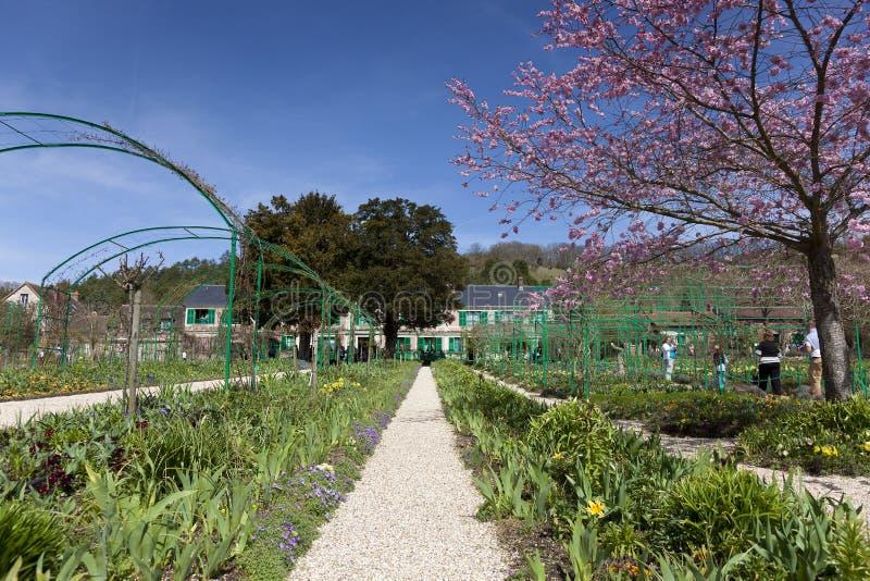 Сады дома Monet, Giverny стоковое изображение rf