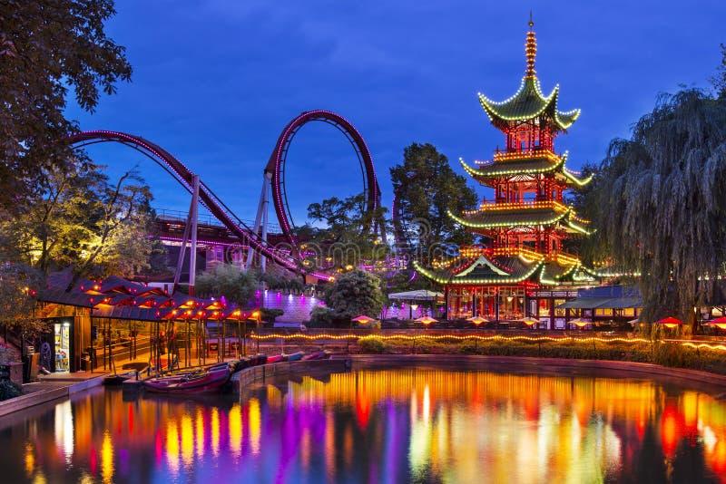 Сады Tivoli стоковое фото