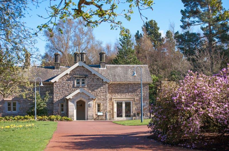 Сад Эдинбурга королевский ботанический в Шотландии стоковая фотография rf
