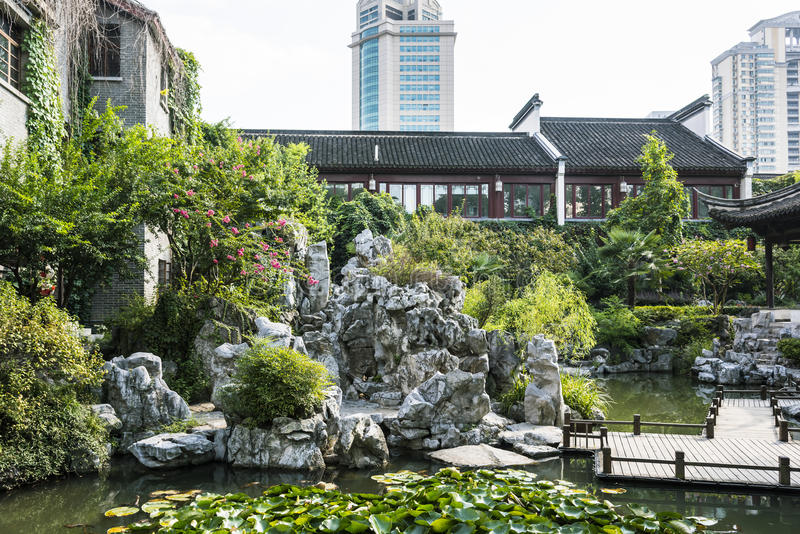 Сад Rockery стоковое фото