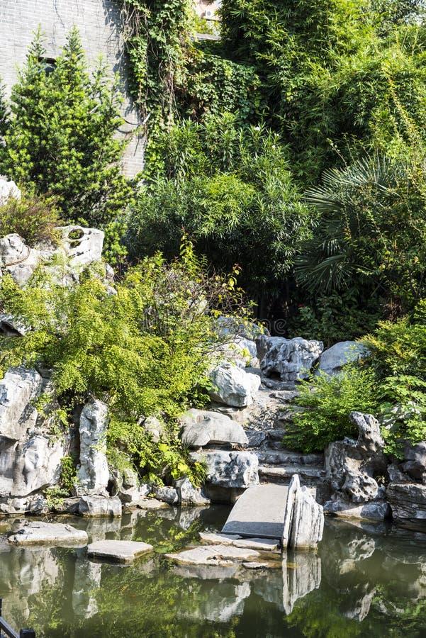 Сад Rockery стоковая фотография rf