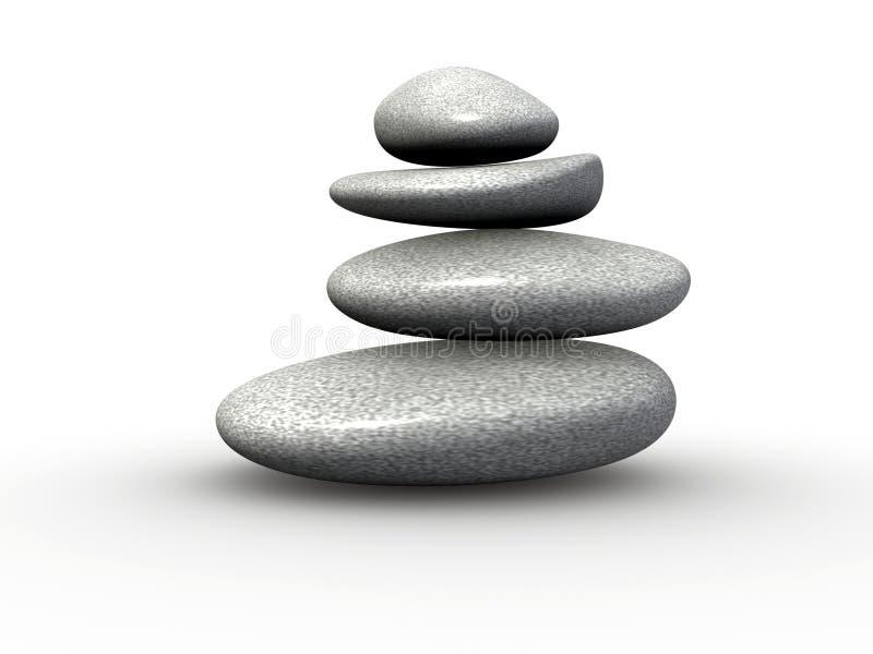 сбалансированные камни бесплатная иллюстрация