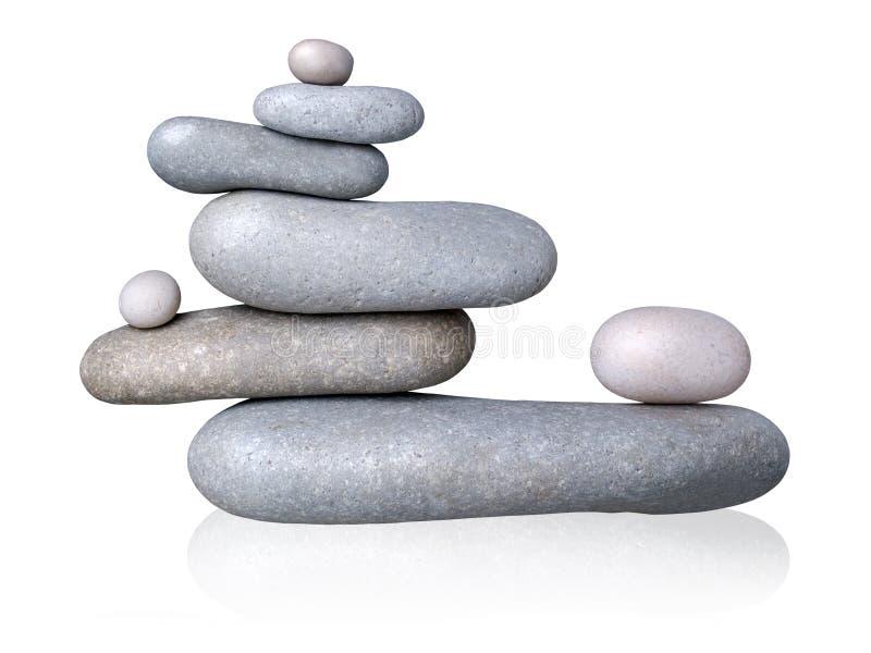 сбалансированные камни стоковое изображение rf