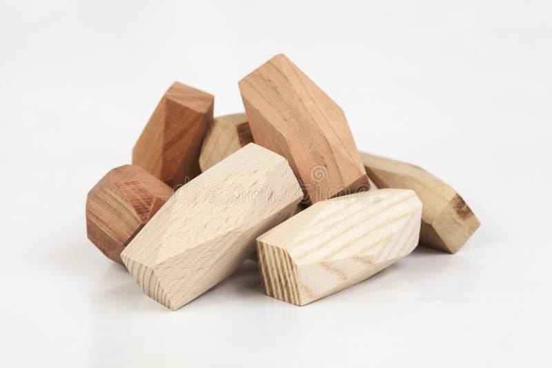 Сбалансируйте маленький деревянный хаос ручек для игры стоковые изображения