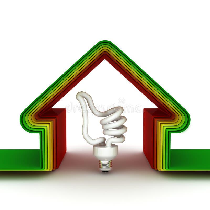 сбережениа дома энергии принципиальной схемы бесплатная иллюстрация