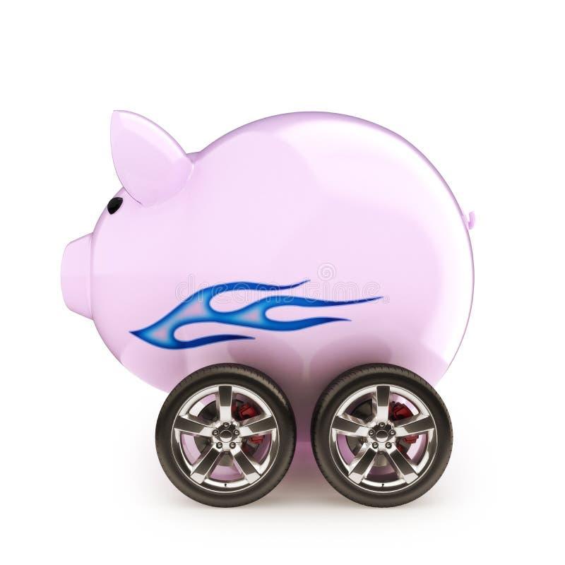 Сбережения автомобиля спорт. стоковые изображения